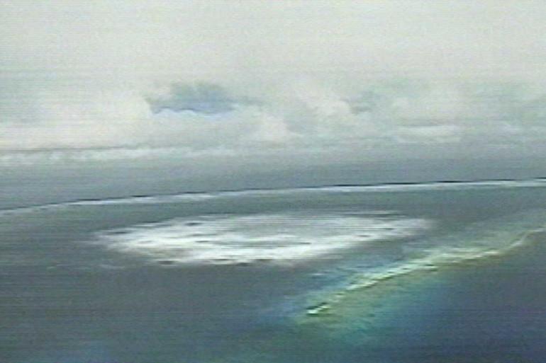 La Polynésie demande réparation pour le préjudice écologique des essais nucléaires. (archives)