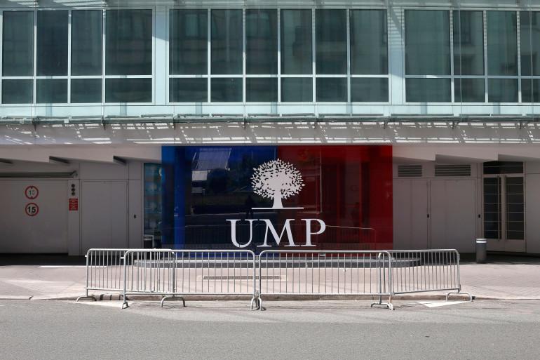 Le siège de l'UMP à Paris (image d'illustration).
