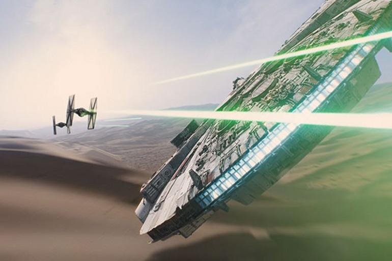"""Le Faucon Millenium est dévoilé dans ce premier trailer de """"Star Wars 7"""""""