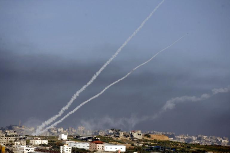 Un tir de roquette provenant de Gaza a atteint un terrain vague dans le sud d'Israël. (photo d'Archives).