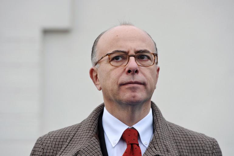 Le ministre de l'Intérieur Bernard Cazeneuve en visite à Rennes, le 29 novembre 2014