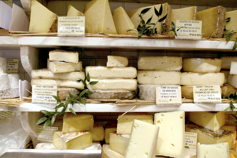 Les Français sont les plus gros consommateurs au monde de fromages
