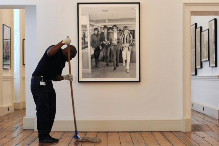 Une expo photo des Rolling Stones dans un musée de Londres pour le 50e anniversaire de la formation du groupe, en 2013 (illustration).
