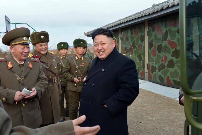 Photo du dirigeant nord-coréen Kim Jong-Un fournie par l'agence de presse officielle du régime, le 1er décembre 2014
