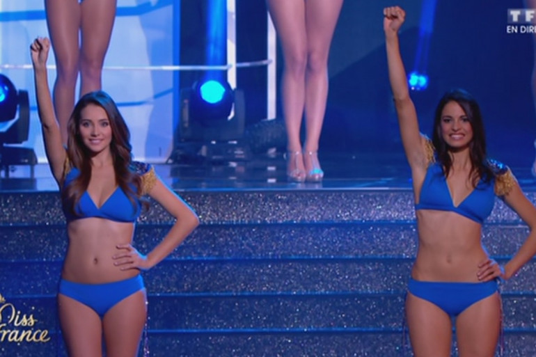 Miss France 2015 : les demi-finalistes ont défilé en maillot deux pièces à Orléans