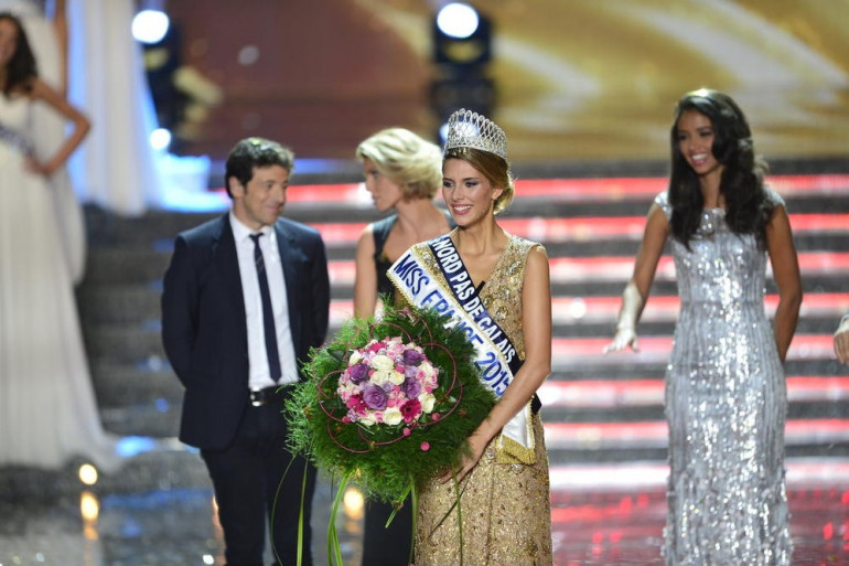 Camille Cerf, Miss Nord-Pas-de-Calais, a été élue Miss France 2015.