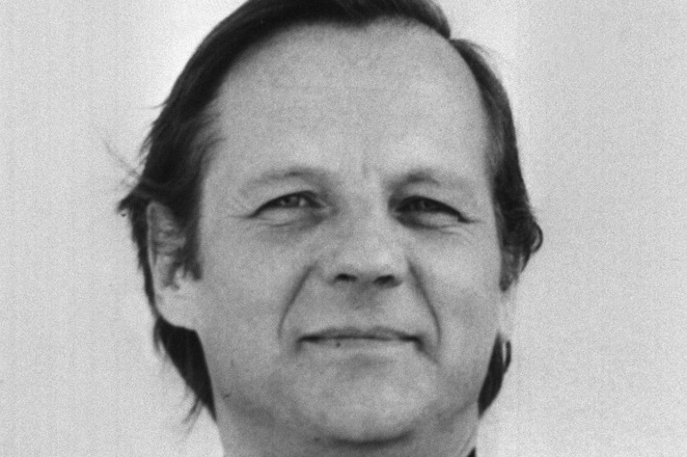 Georges Hansen en mars 1986.