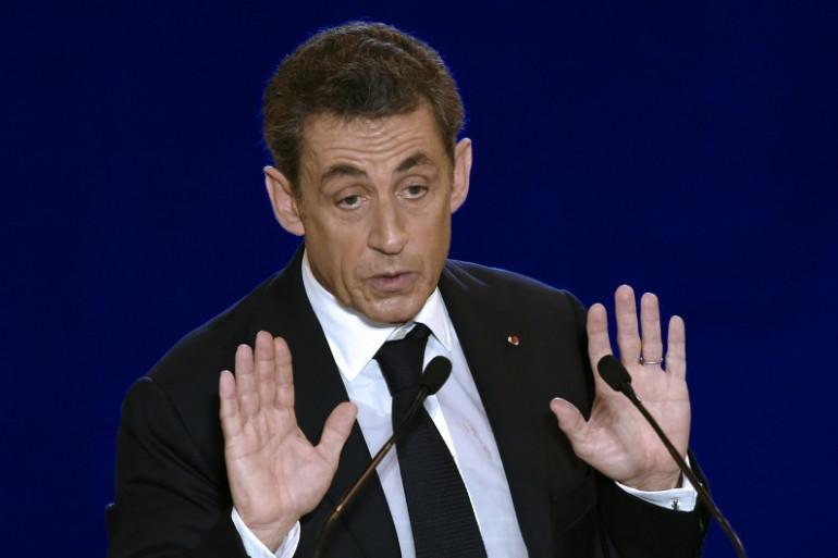 Nicolas Sarkozy, le 27 novembre, à Nîmes. (archives)
