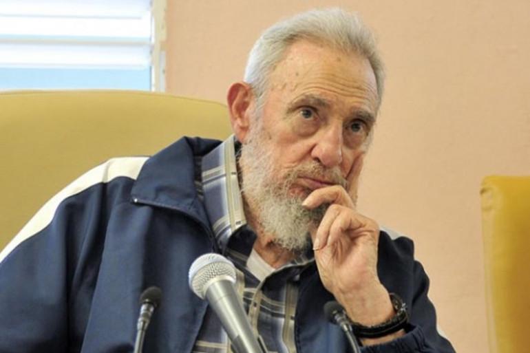 Fidel Castro en avril 2013 à Cuba