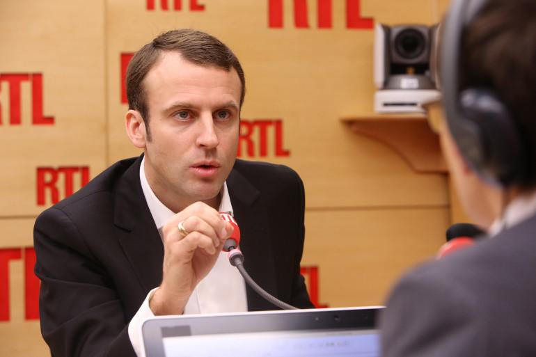 Emmanuel Macron, invité de RTL, le 11 décembre 2014