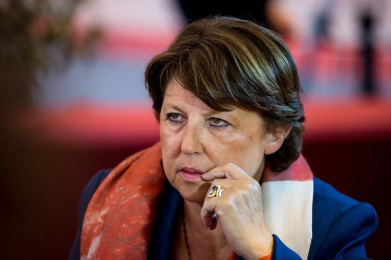Martine Aubry, à Lomme, le 13 septembre 2014. (archives)