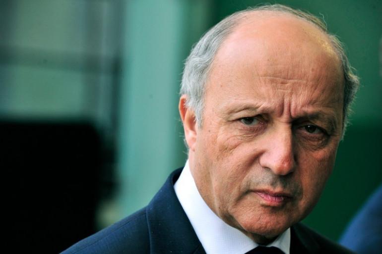 Laurent Fabius, le ministre des Affaires étrangères, le 14 avril 2014.