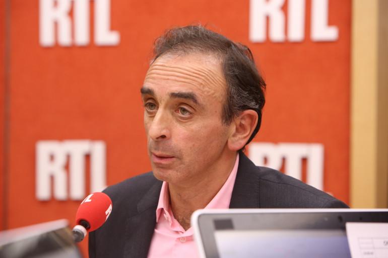 Eric Zemmour lors du débat face à Jean-Luc Mélenchon