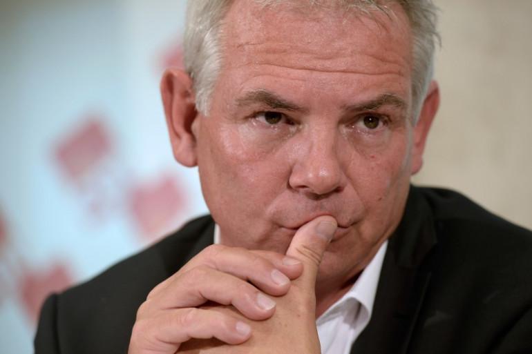 Thierry Lepaon est à la tête de la CGT depuis le 22 mars 2013 (archives).