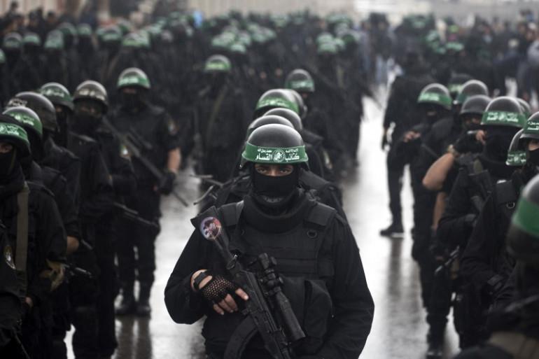 Les brigades Ezzedine al-Qassam, la branche armée du Hamas.