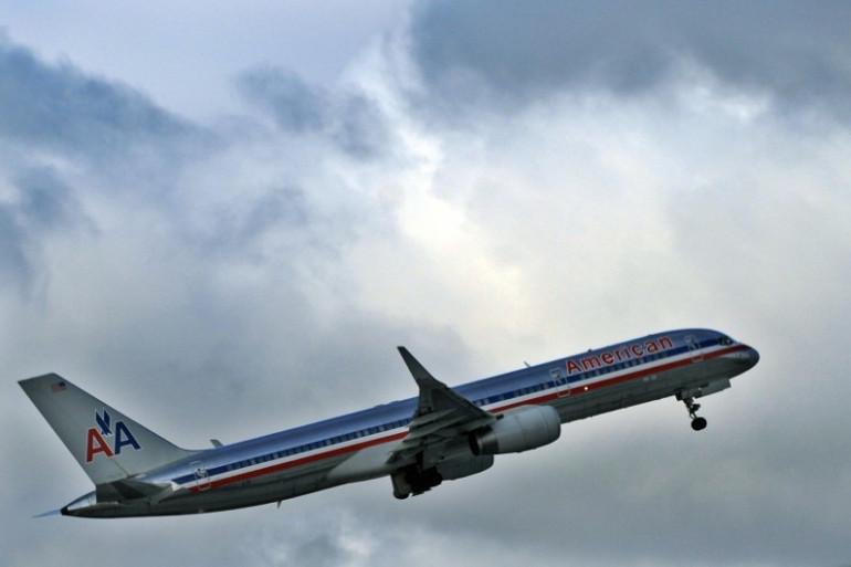 Un avion de la compagnie American Airlines (image d'illustration)
