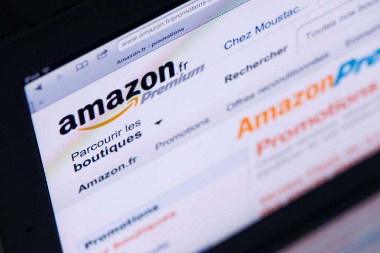 Le site du distributeur en ligne américain Amazon