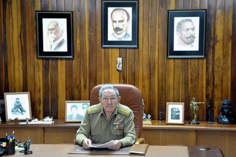 Raul Castro, le 17 décembre 2014