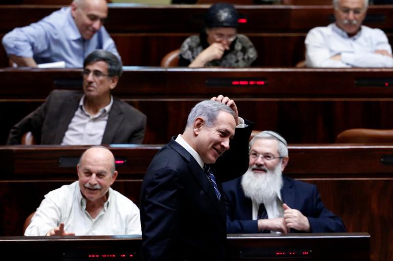 Le Premier ministre Benjamin Netanyahu à la Knesset, le 8 décembre 2014 (archives).