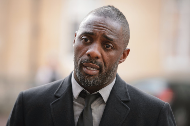 Idris Elba à Londres, le 2 octobre 2014