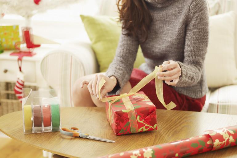Trouver des idées de cadeau de Noël n'est pas toujours évident (image d'illustration)