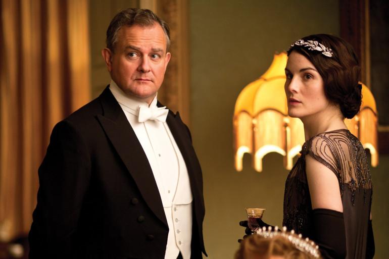 """Hugh Bonneville et Michelle Dockery sont les principaux protagonistes de """"Downton Abbey"""""""