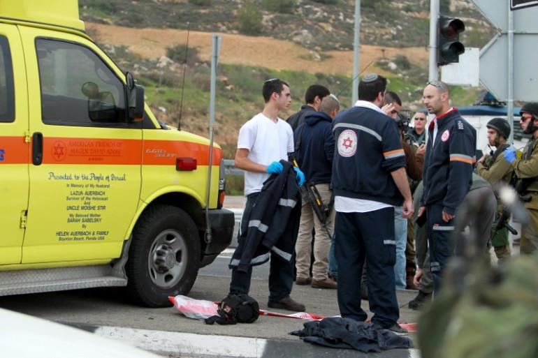 Des secouristes israéliens à Bethléem (illustration)