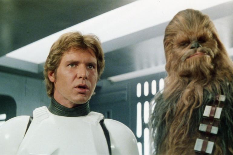 """Harrison Ford joue Han Solo dans """"Star Wars"""""""