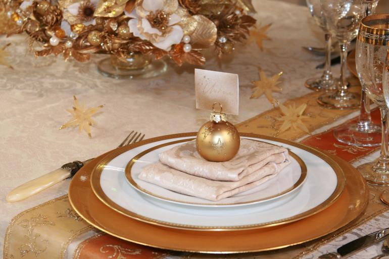 Il n'est pas compliqué de préparer une belle table pour le déjeuner du 1er janvier