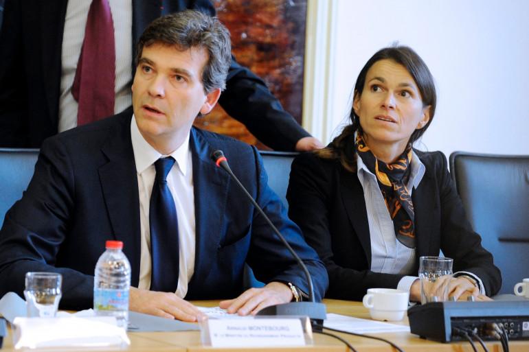 Arnaud Montebourg et Aurélie Filippetti le 27 septembre 2012 alors qu'ils étaient encore ministre. (archives)