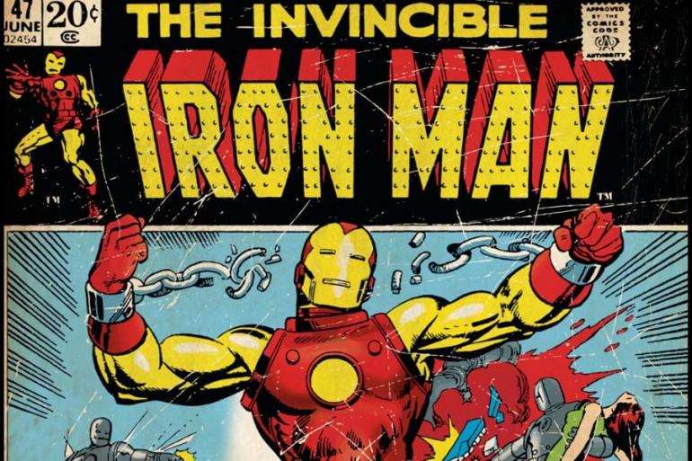 """La bande dessinée """"Iron Man"""" éditée par Marvel"""
