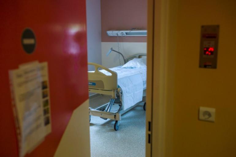 Une chambre d'hôpital à Bichat, à Paris. (Illustration)