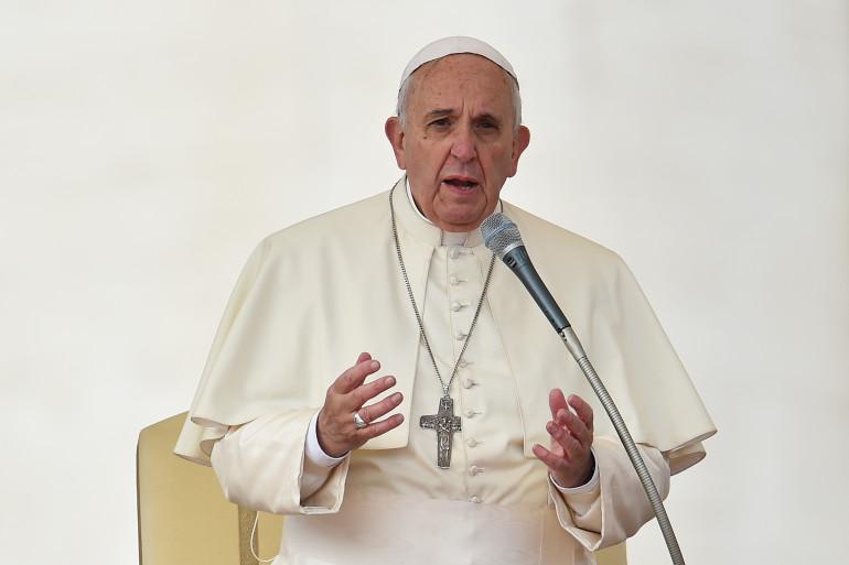 """Le pape François a dénoncé des """"inégalités sociales scandaleuses"""" (illustration)"""