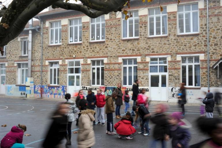 Une école (illustration)