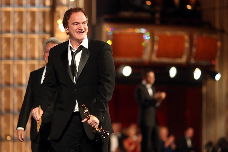 Quentin Tarantino, lauréat des Oscars 2013, a commencé le tournage de son dernier film.