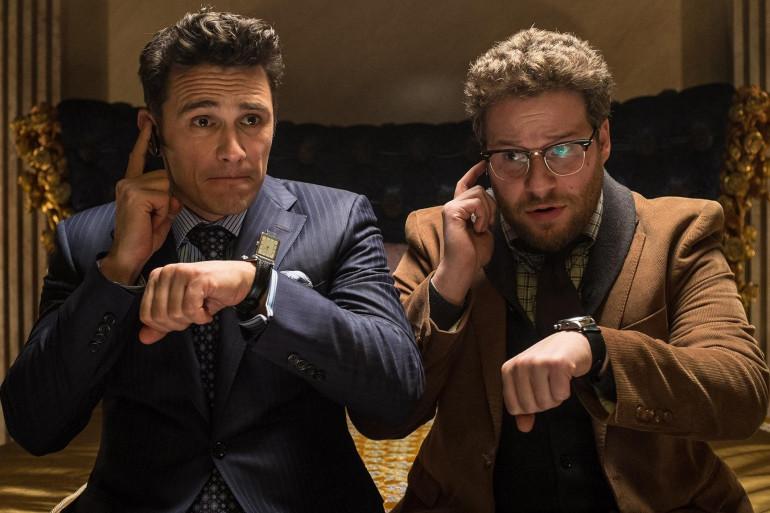 """James Franco et Seth Rogens dans """"L'interview qui tue !"""""""
