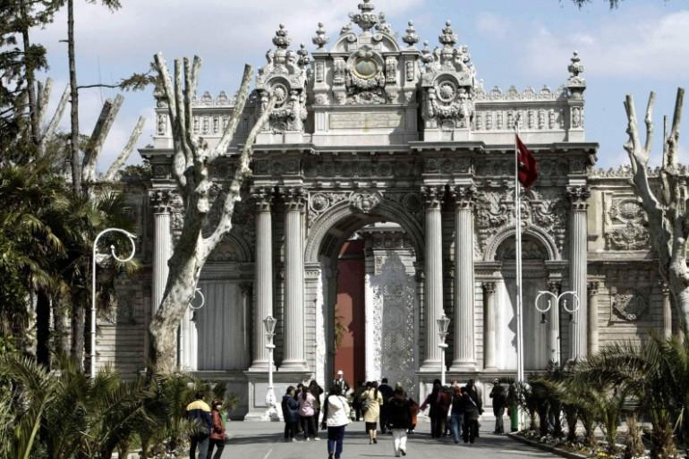 Le palais ottoman de Dolmabahçe à Istanbul, qui abrite les bureaux du président Recep Tayyip Erdogan