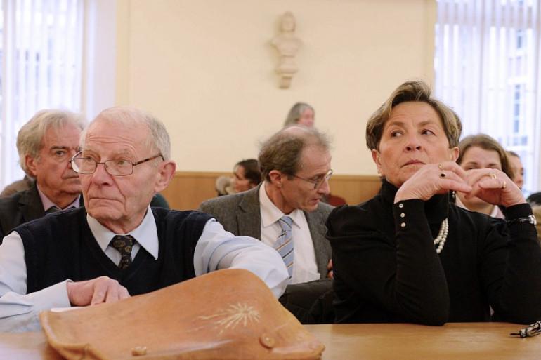 Pierre et Viviane Lambert, les parents de Vincent Lambert le 15 janvier 2014