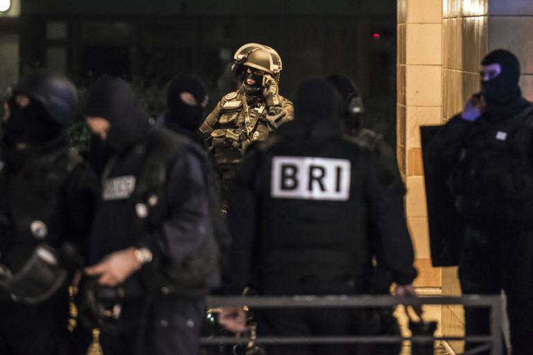 Des membres de la BRI à Grenoble, le 6 janvier 2015.