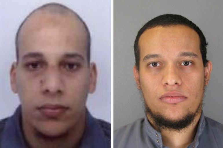 """""""Charlie Hebdo"""" : les photos des suspects Chérif et Said Kouach ont été diffusées par la police"""