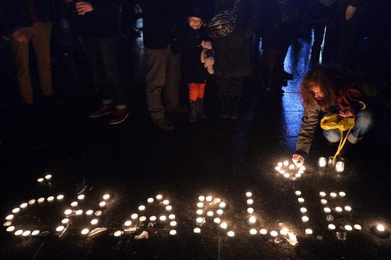 Charlie Hebdo : rassemblement à Strasbourg, le 7 janvier 2015