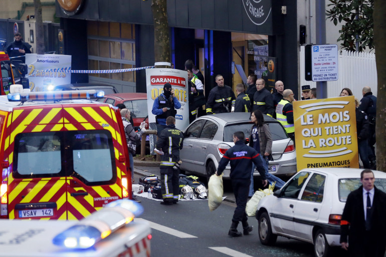 Une policière a été tuée à Montrouge, le 8 janvier 2015