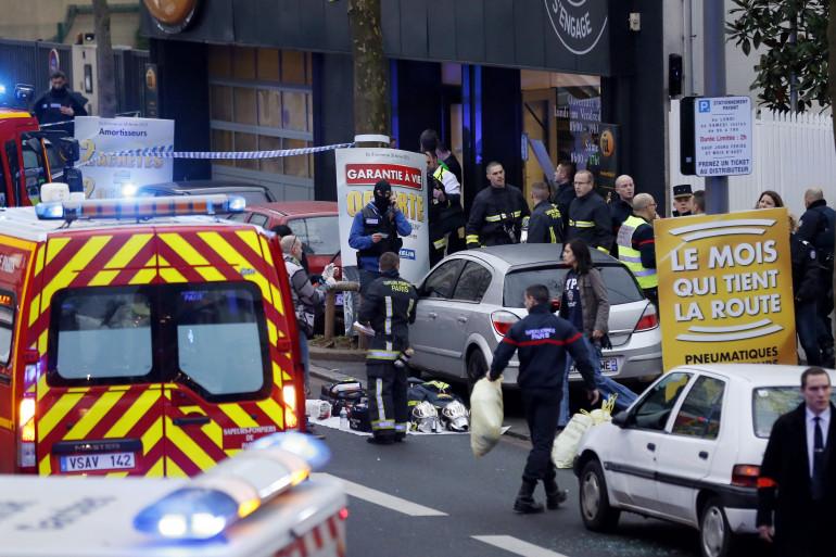 Fusillade à Montrouge : le quartier est sécurisé par la police.