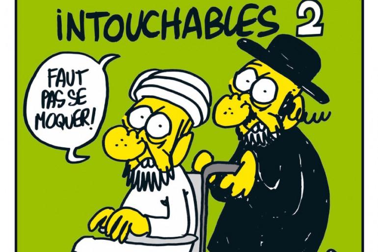 """La une de """"Charlie Hebdo"""" de septembre 2012"""