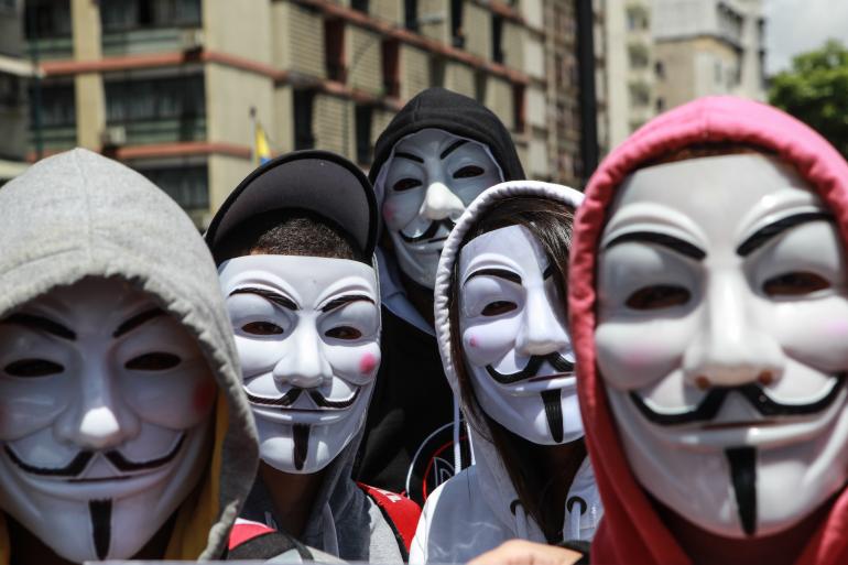 Le journaliste avait couvert les piratages informatiques d'Anonymous (illustration)