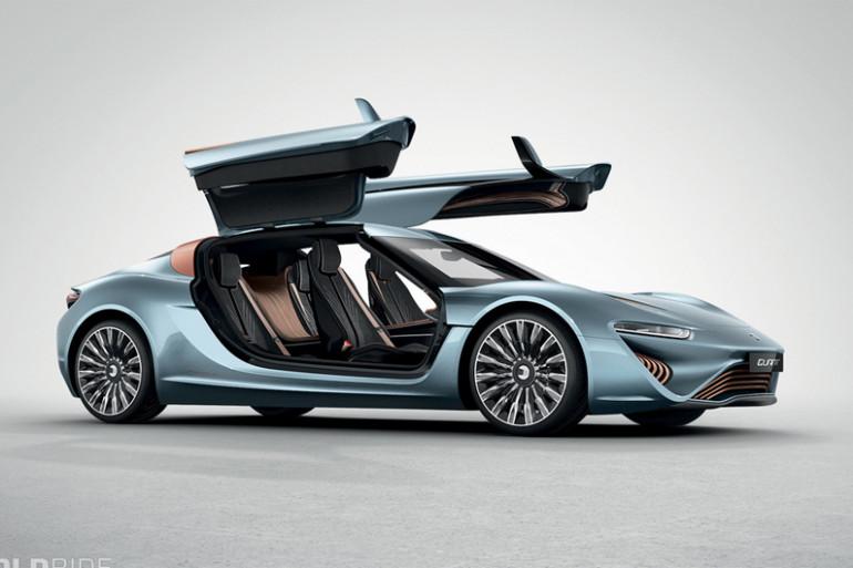Quant e-Sportlimousine, la voiture qui roule l'eau de mer