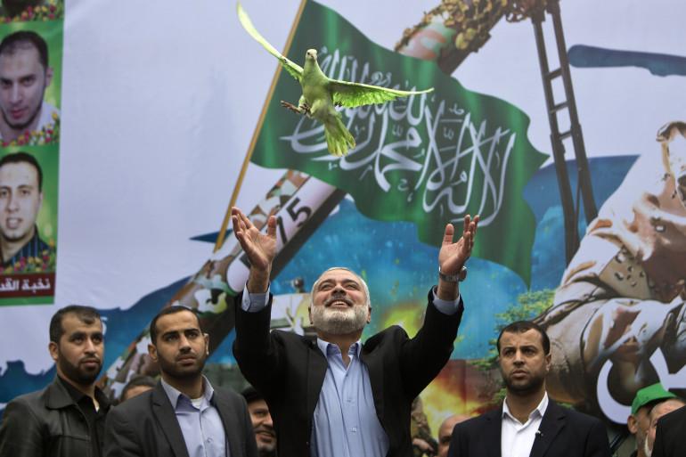 Ismail Haniya, le leader du Hamas le 12 décembre 2014.