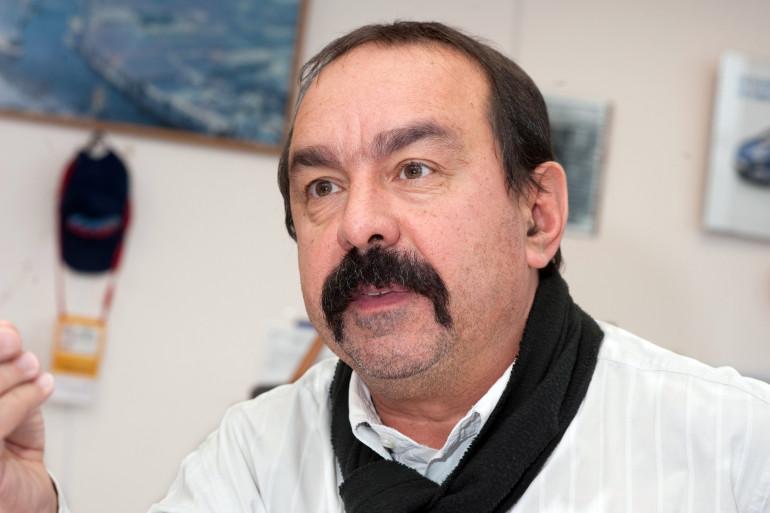 Philippe Martinez à Montreuil, le 13 décembre 2013.