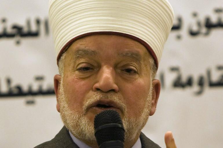 Le mufti de Jérusalem, Mohammad Hussein.