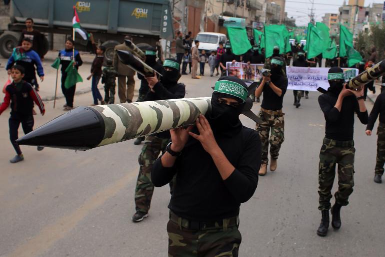 Des membres du Hamas à Gaza, le 12 décembre 2014. (Illustration)